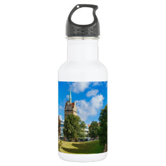 Historical building in Rostock 532 Ml Water Bottle