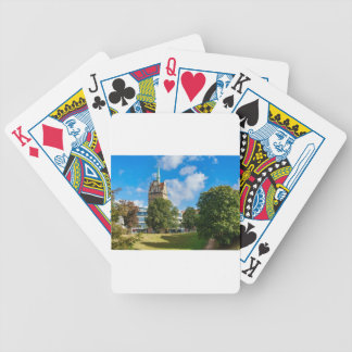 Historical building in Rostock Bicycle Playing Cards