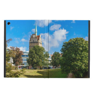 Historical building in Rostock Cover For iPad Air