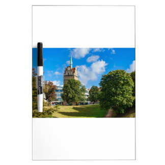 Historical building in Rostock Dry Erase Board