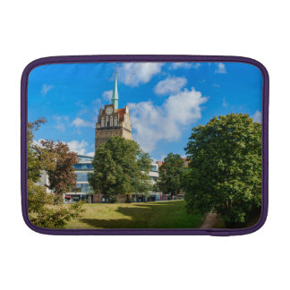 Historical building in Rostock MacBook Sleeve