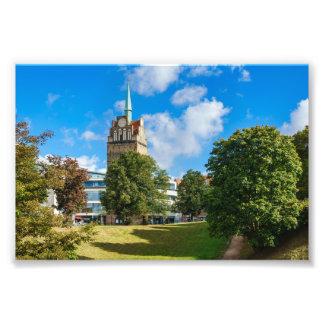 Historical building in Rostock Photo Print