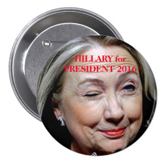 Historical Campaign Buttons - Hillary Clinton