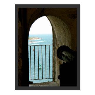 Historical Castle El Morro, Puerto Rico Postcard