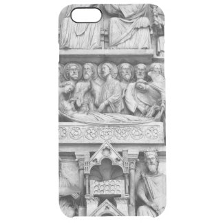 Historical, Christian Sculptures Notre Dame Paris Clear iPhone 6 Plus Case
