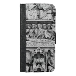 Historical, Christian Sculptures Notre Dame Paris iPhone 6/6s Plus Wallet Case