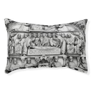 Historical, Christian Sculptures Notre Dame Paris Pet Bed