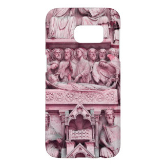 Historical, Christian sculptures Notre Dame Paris Samsung Galaxy S7 Case