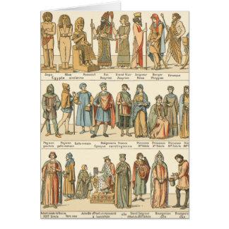 Historical Civil Dress Card