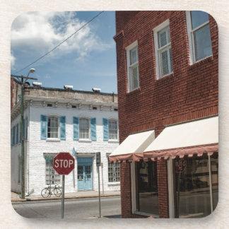 Historical Downtown Savannah Georgia Beverage Coasters