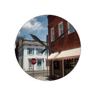 Historical Downtown Savannah Georgia Clocks
