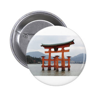 Historical Gate in the Bay of Miyajima Japan Pins