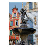 historical Gdansk, Poland Poster