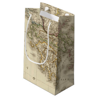 Historical Greece, Paris atlas map Small Gift Bag