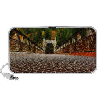 Historical Heritage Bridge Architecture iPod Speakers