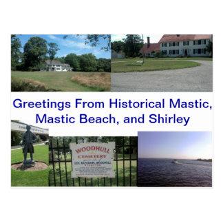 Historical Mastic, Mastic Beach, and Shirley Postcard