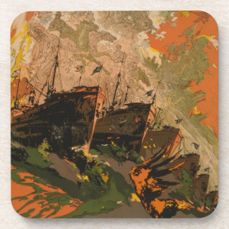 Historical Military July 4 WWI USA War Effort Coasters