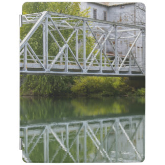 Historical Mill And Bridge Ozark iPad Cover