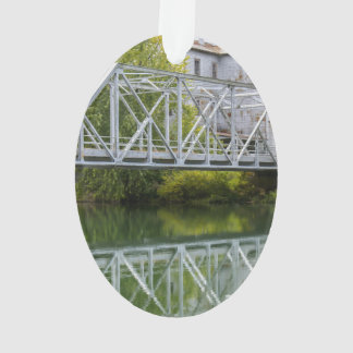 Historical Mill And Bridge Ozark Ornament