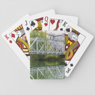 Historical Mill And Bridge Ozark Playing Cards
