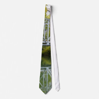 Historical Mill And Bridge Ozark Tie