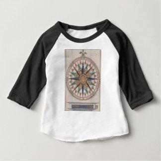 Historical Nautical Compass (1543) Baby T-Shirt