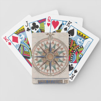 Historical Nautical Compass (1543) Bicycle Playing Cards