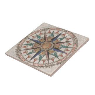 Historical Nautical Compass (1543) Tile