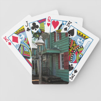 Historical Pirates House Savannah Georgia USA Bicycle Playing Cards