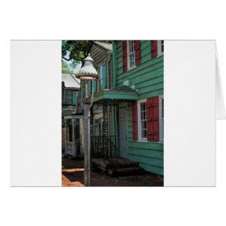 Historical Pirates House Savannah Georgia USA Card