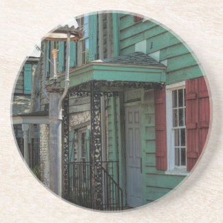 Historical Pirates House Savannah Georgia USA Drink Coaster