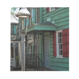 Historical Pirates House Savannah Georgia USA Notepad