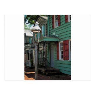 Historical Pirates House Savannah Georgia USA Postcard