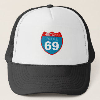 Historical Route 69 Trucker Hat