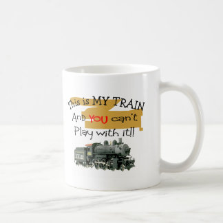 Historical Train Gifts--Hilarious sayings Classic White Coffee Mug