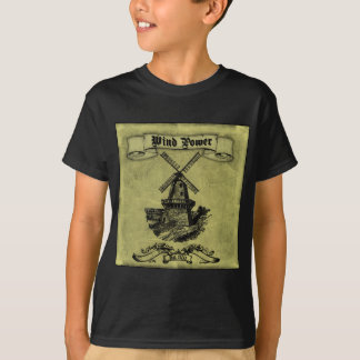 Historical Wind - Kids Dark T-Shirt