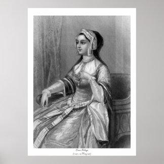 Historical Women - Anne Boleyn Poster