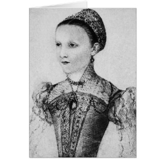 Historical Women - Mary, Queen of Scots Aged Nine Card