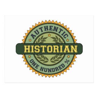 Historien authentique cartes postales
