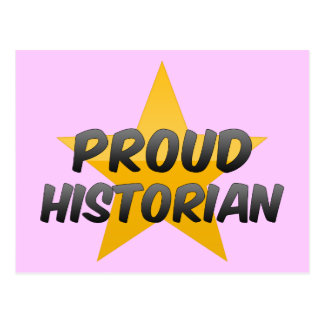 Historien fier carte postale