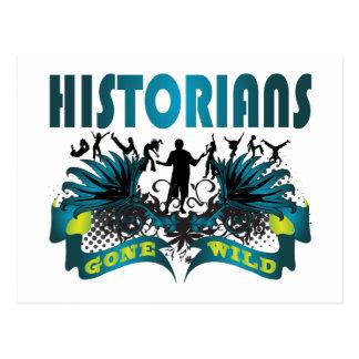 Historiens fous carte postale