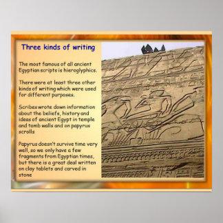 Historic writing
