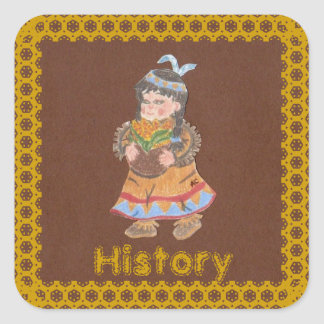History book stickers