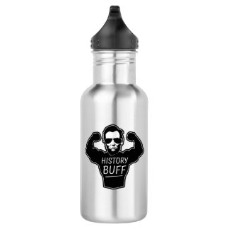 History Buff Lincoln Water Bottle