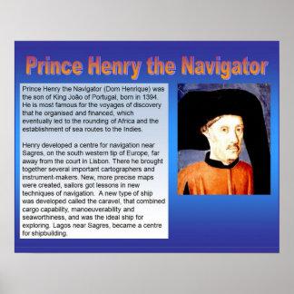 History, Exploration, Prince Henry the Navigator Poster
