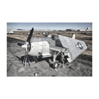 History in Motion:  Avenger Canvas Print