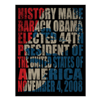 History Made Poster