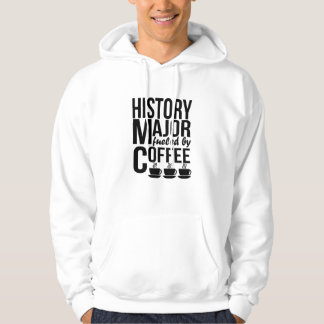 History Major Fueled By Coffee Hoodie