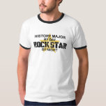 History Major Rock Star Shirt