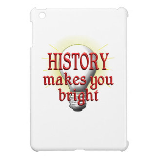History Makes You Bright iPad Mini Cover